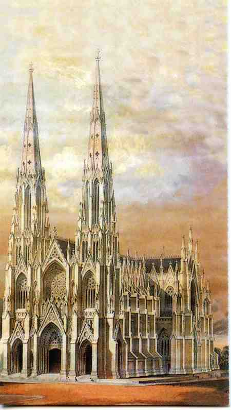 St. Patrick's Cathedral September 11, 2001 Memorial Card