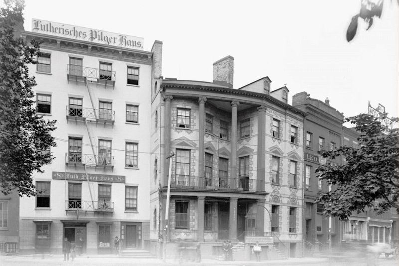 7 and 8 State Street in 1891