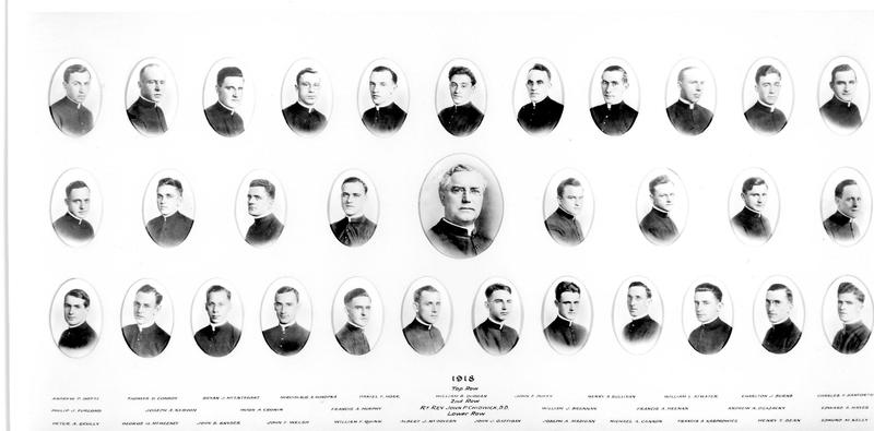 St. Joseph's Seminary Class of 1918