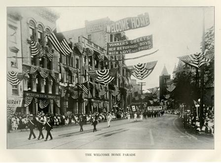 Yonkers Welcome Home Parade