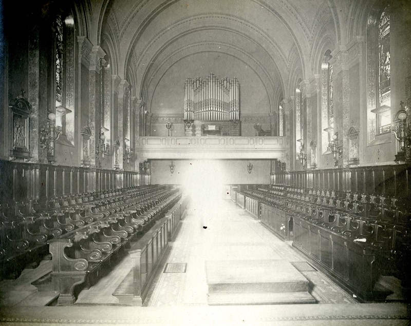 Choir Loft at St. Joseph's Seminary