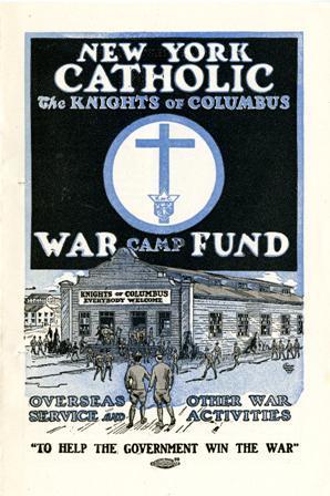 New York Catholic War Fund Poster