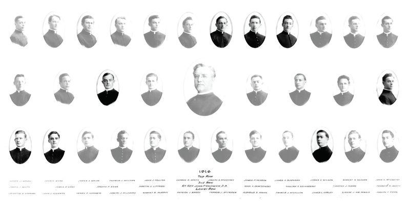 St. Joseph's Seminary Class of 1916