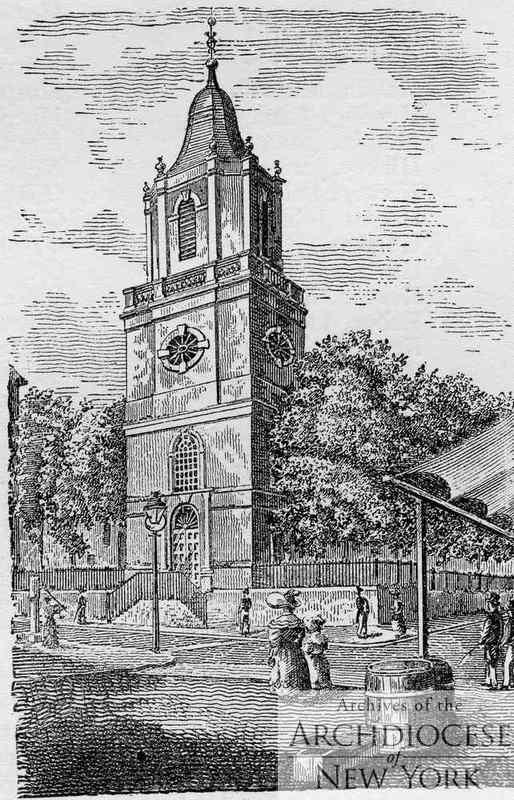St. Peter's Church, Barclay Street, Manhattan