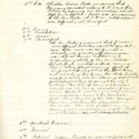 Seminary Regulator Diary