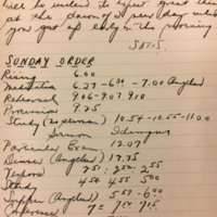1928 Regulator Diary