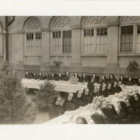 Banquet in the Convent court