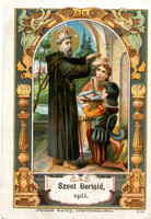 Blessed Berthold of Garsten Holy Card
