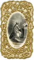 St. Felix Holy Card