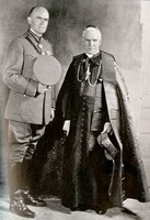 Fr. Francis Duffy and Cardinal Patrick Hayes